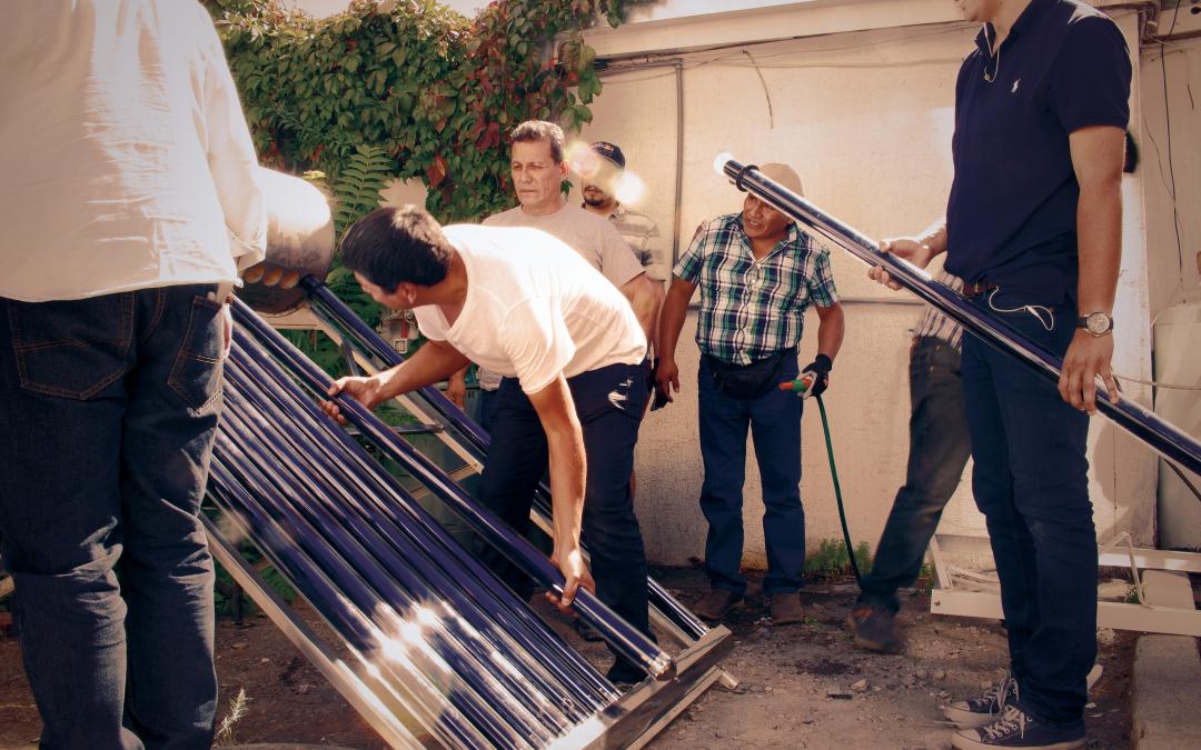 ¿Cómo funciona la energía solar térmica?